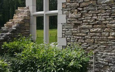 Fenêtre – Château de Gouhenans