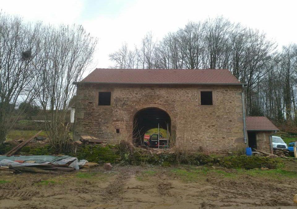 Rénovation d'une ferme Comtoise