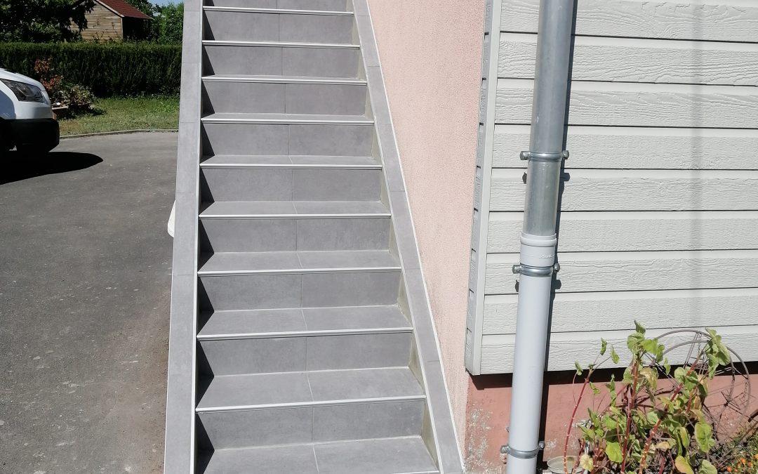 Rénovation d'un escalier Maison des années 70